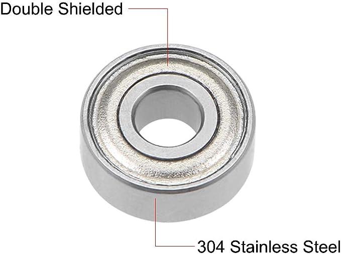 MR83ZZ ball bearing 3x8x3mm 8x3x3mm