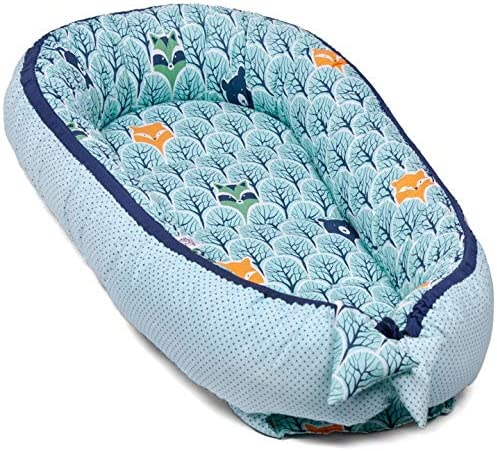 Baby Nest Nido beb/é Reductor De Cuna Reversible Capullo Multifuncional