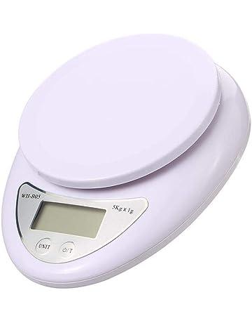 Murieo Mini Balanza Electrónica Portátil de la Cocina de la Escala de la Alta Precisión de