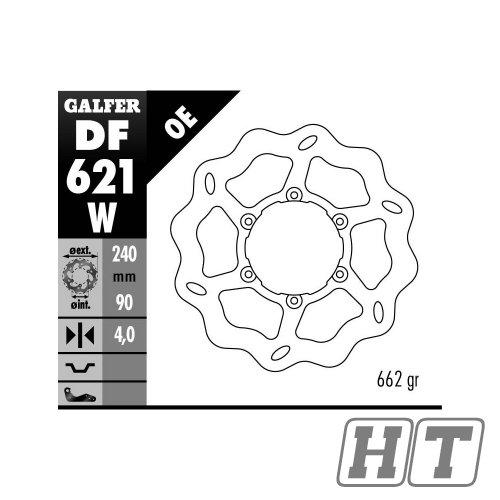 Galfer Wave Brake Disc Fixed DF621/W