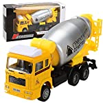 Inkach Pull Back Truck for Kids - Including Friction Powered Fire Engine Truck, Construction Dump Truck , Cement Mixer, Crane, Postal Truck Construction City Vehicles Model Engineering Car Toy by Inkach - Truck Toys