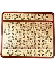 قطعتان من ديديل من السيليكون المقاوم للحرارة غير لاصق لحلويات الفرن وأدوات الخبز المنزلية للمطبخ (رمادي) PYDECDEALH33005RKTSA