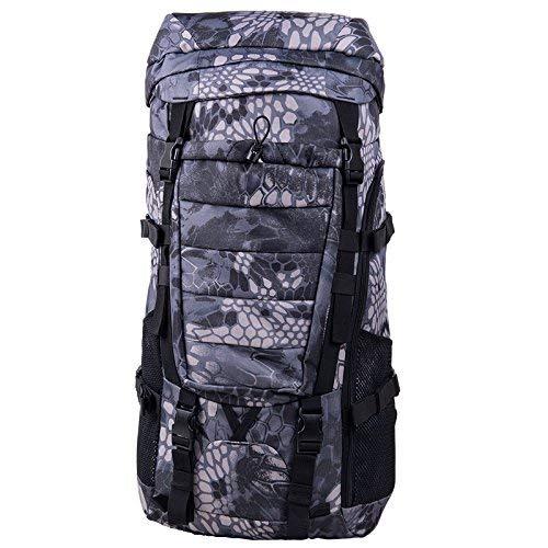 BEI Outdoor-Rucksack Outdoor-Bergsteigen Rucksack, wasserdicht, solide und langlebig, reißfest, männlich und weiblich Universal, Multi-Purpose, Wandern, Radfahren, Camping Großraum-Rucksack