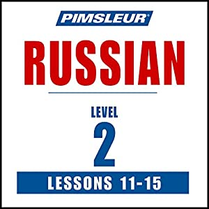 Russian Level 2 Lessons 11-15 Speech