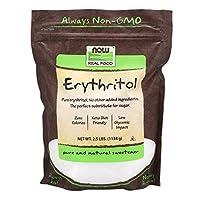 NOW Foods Eritritol, 2.5 Libras