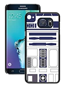 Hot Sale Samsung Galaxy S6 Edge Plus Case ,Unique And Durable Designed Case With R2D2 Minimalist black Samsung Galaxy S6 Edge+ Cover Phone Case