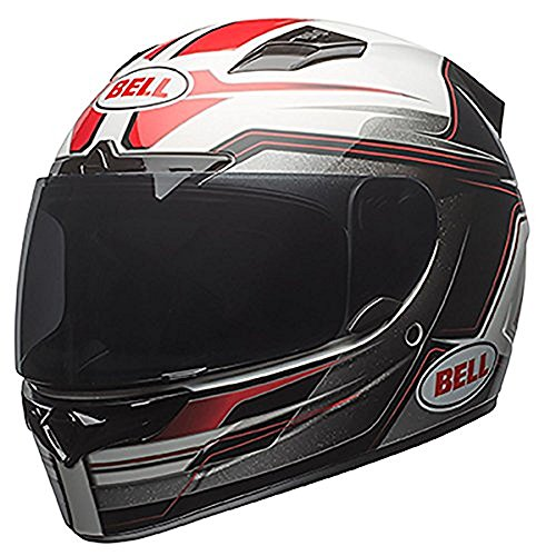 Bell Vortex Unisex-Adult Full Face Street Helmet (Marker Red/Black, Small) (D.O.T.-Certified) (Bell Top Vortex)