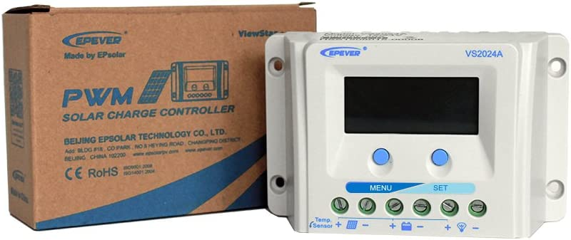 EPEVER PWM Solar Charge Controller View Star A Series with LCD Display 10A