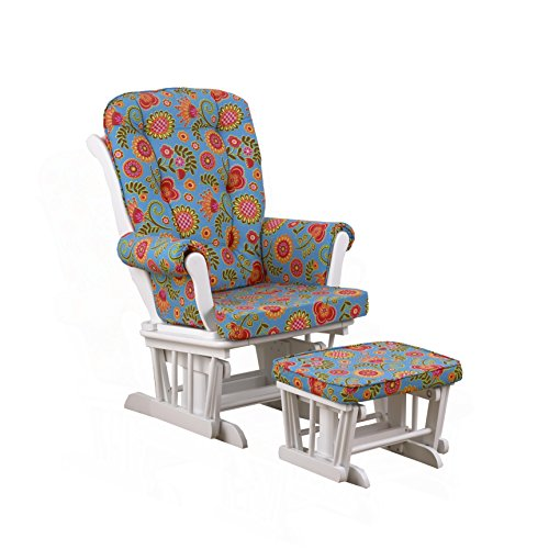 Cotton Tale Designs Glider Floral on White