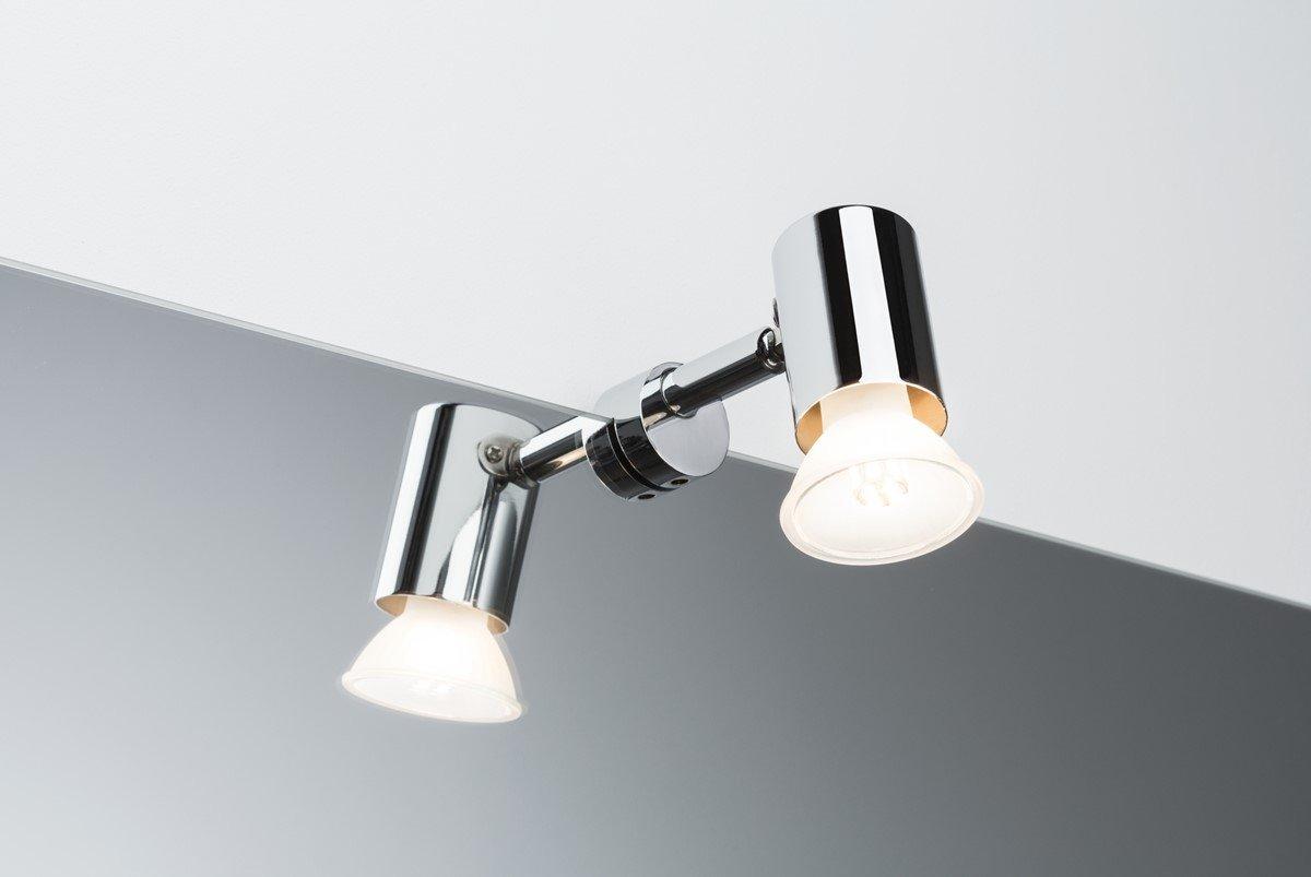 Paulmann 70880 Spiegelleuchte Mintaka Spiegellampe Ip20 Aufsatzlampe