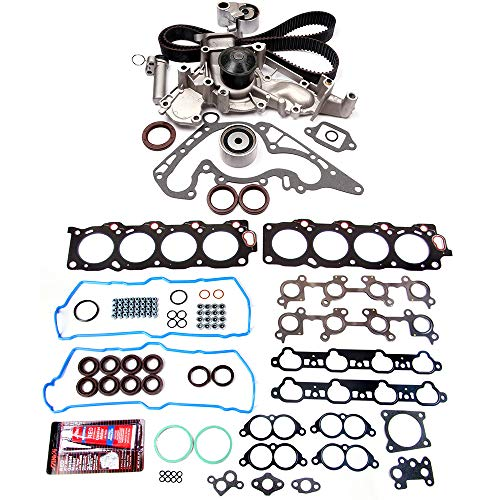 (ECCPP Timing Belt Water Pump Kit and Head Gasket Sets,Replacement Parts Fits Lexus LS400 SC400 4.0L V8 1990-1997)
