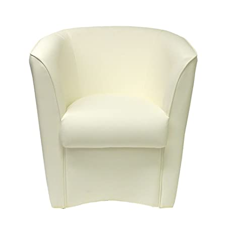 Poltrona A Pozzetto.Toto Piccinni Poltrona A Pozzetto In Ecopelle Design Alta Qualita Made In Italy Bianco