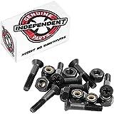 "Independent Genuine Parts Cross Bolts Standard Phillips Skateboard Hardware (Black/Red, 1"")"
