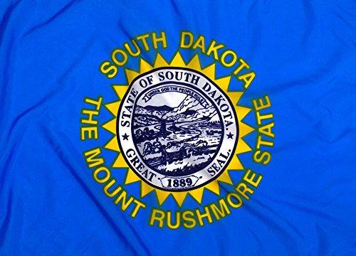 3x5ft South Dakota Flag - Highest Quality Outdoor Nylon