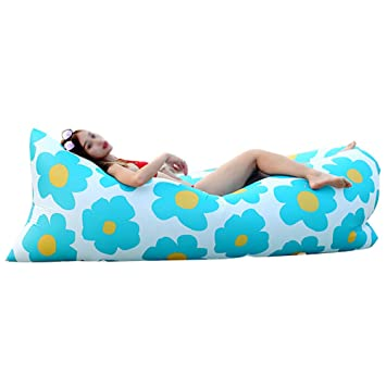 CSYY-YJ Cama Inflable Perezosa al Aire Libre, sofá Inflable, Saco ...
