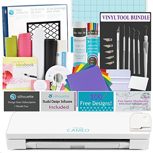 Silhouette Cameo 3 Starting off with Vinyl Bundle by Silhouette America
