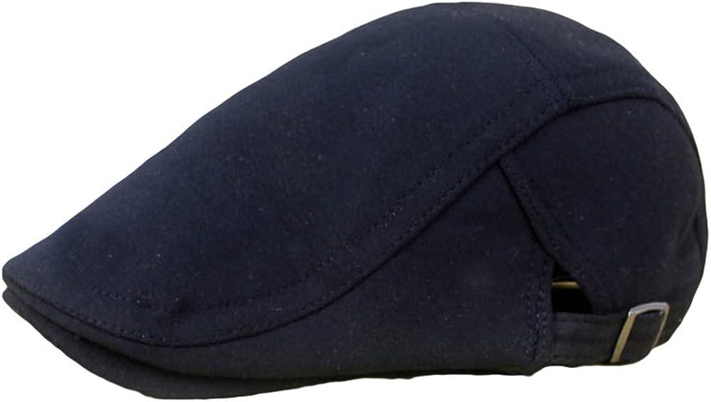 Leisial Hombre Mujer Sombreros Gorras Boinas Gorra de Béisbol Ocio Retro Gorra de Deport Gorro Plano Hat Flat Cap Sombrero de Sol al Aire Libre Primavera Verano para Unisex