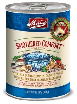 MERRICK PET FOOD - MD SMOTHERED COMFORT 12/13OZ Case CLASSIC