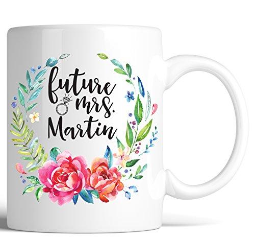 Personalized Future Mrs Coffee Mug Bride to be Bridesmaid Gi