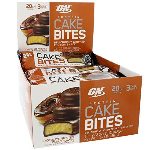Optimum Nutrition Cake Bites, Chocolate Donut, 12 Count