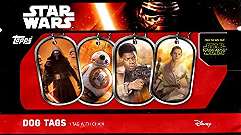 Star Wars The Force Awakens Dog Tags Mystery Pack (Dog Tag Chain Packs)