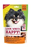 Look Who's Happy Dog Treats F10063 1 Pouch Farm'n Fresh Treats, One Size