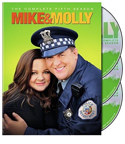 DVD : Mike and Molly: The Complete Fifth Season (3 Pack, Slipsleeve Packaging, 3 Disc)