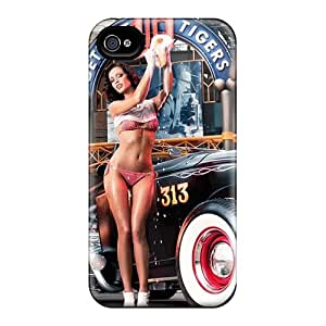 New BeverlyVargo Super Strong Kristin Zippel Detroit Tigers Cases Covers For Iphone 6