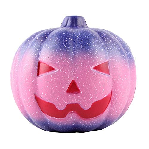 1 piece Simulation PU Slow Squishy Rising Star Pumpkin Squishy Slow Rebound Antistress Toys Halloween Props Manufacturers Wholesale