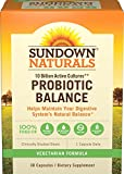 Best Sundown Naturals probiotic supplement - Sundown Naturals Probiotic Balance, 30 Capsules Review