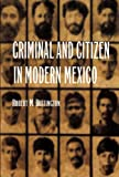 Criminal and Citizen in Modern Mexico, Robert Buffington, 0803213026