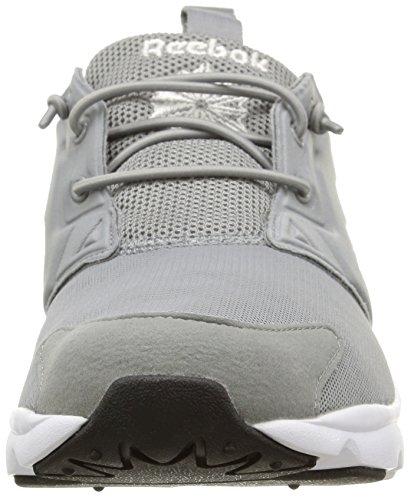 Mehrfarbig Furylite Homme Shoes Reebok black Grey white flat vtw81qp1x