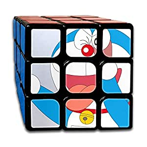Smooth Sequential Puzzle Toy DORAEMON Speed Cube Standard 3x3 Stickerless Cube Puzzle Bundle, IQ Games Puzzles