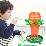 Studyset Little Bee Tree Blocks Interactive Board Game Children Thinking Training Desktop Family Party Game Toy