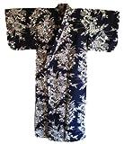 Cotton Kimono with Flower Design #TK378