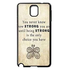 Quotes Personalized Cover Case for Samsung Galaxy Note 3 N9000,customized phone case ygtg528716