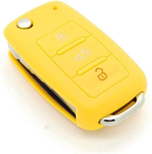 Funda de llave de silicona para Volkswagen Polo, Passat, Golf, 3 ...