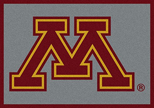 NCAA Team Spirit Door Mat - Minnesota Gophers, 44'' x 68'', Multi by Millilken