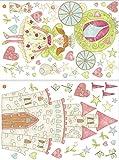 Wall Pops WPK1165 Princess Fairyland Kit