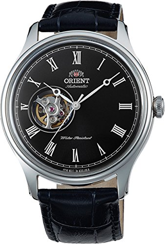 ORIENT Classic Automatic with Hand Winding Open Heart Dome Crystal Roman ()