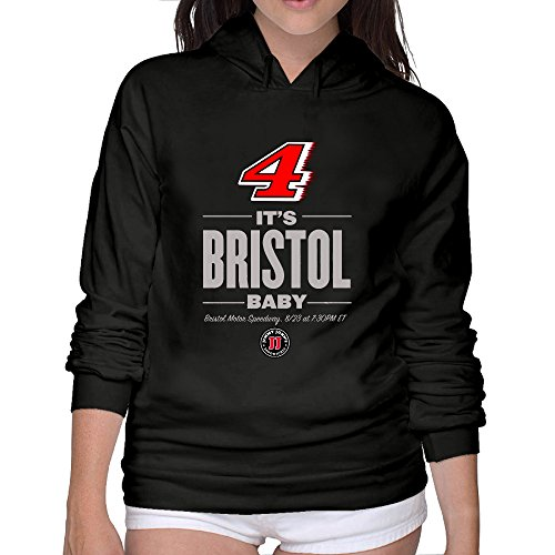 Harvick Photo (Women's NASCAR Kevin Harvick It's Bristol Baby Hooded Sweater Photo)