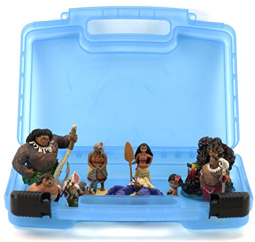 [Life Made Better Toy Storage Organizer. Fits Up To 15 Mini Figures. Compatible With Disney Moana Mini Figures And] (Doll On A Music Box Costume)