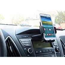 CD Mount Phone Holder in your Car or Truck fits LG g4 with Otterbox Defender Case on it.