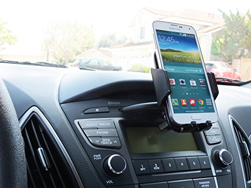 (CD Mount Phone Holder in your Car or Truck fits BLU Studio 5.5 D610)