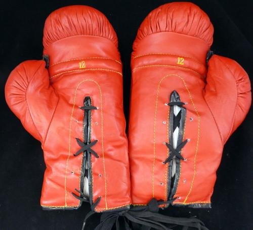 Muhammad Ali Autographed Signed Everlast Boxing Gloves Glove #Q09268 PSA/DNA Certified Autographed Boxing Gloves