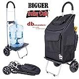 dbest products - Carrito de bebé con diseño de muñeca, Color Azul, Negro, 26 in. x 16 in. x 6 in, 1