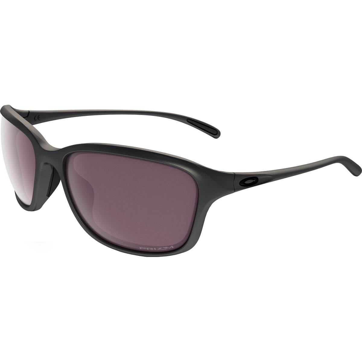 Oakley Women's She's Unstoppable Polarized Round Sunglasses, Steel, 57 mm by Oakley