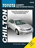 Toyota Camry--2002 through 2005 (Chilton's Total Car Care Repair Manual)