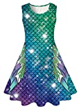 Funnycokid Mermaid Tail Dresses for Girls