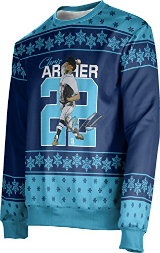 ProSphere Chris Archer Tampa Bay 22 Unisex Sweater - Snowflake FE691 (XX-Large)